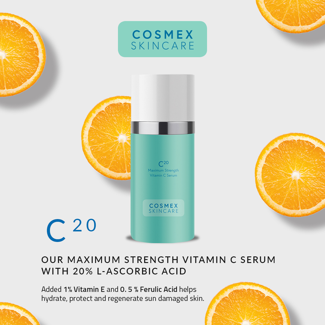 C20 - Vitamin C Serum with 20% L-ascorbic Acid